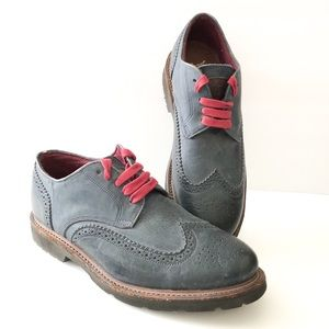 Vintage shoe company wing tip oxfords